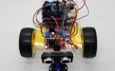Proyecto 19 – Robot autónomo con sensor ultrasónico