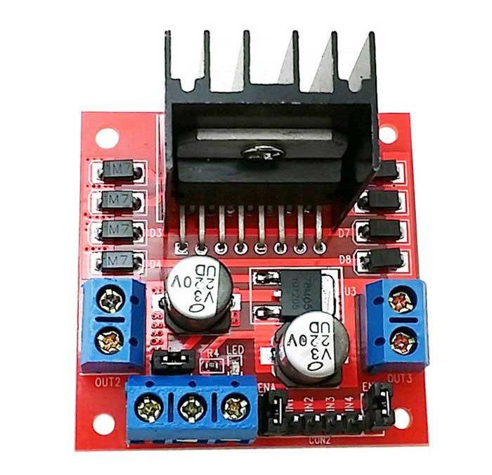 PROYECTO 20 – Control de placa driver de motores L298N con Arduino